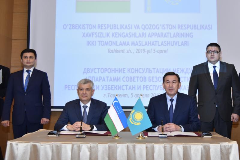 Қазақстан мен Өзбекстан қауіпсіздік кеңестері аппараттарының кеңейтілген консультациясы өтті