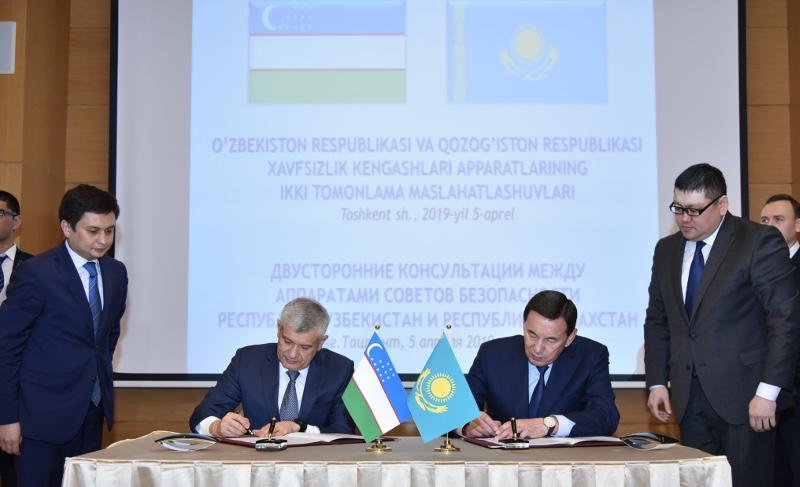 哈乌两国安全会议磋商会议在塔什干召开