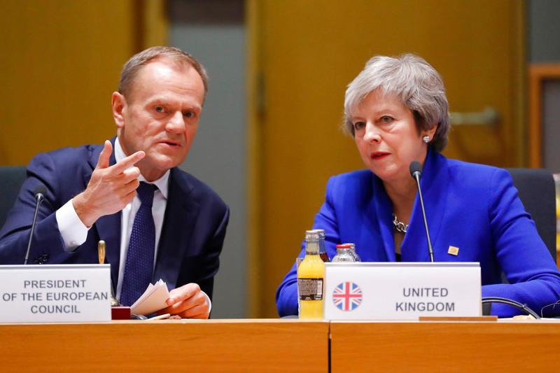 英首相致信欧洲理事会主席 请求将脱欧推迟至6月30日