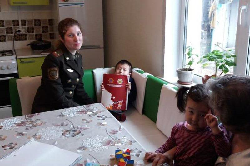 Датчики угарного газа в семьях с детьми-инвалидами устанавливают в ВКО