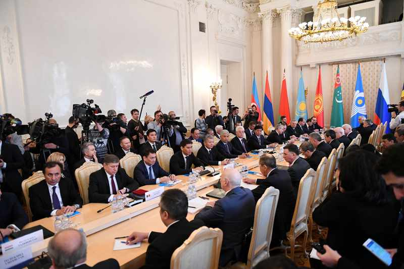Beibut Atamkulov partakes in CIS Council of Foreign Ministers in Moscow