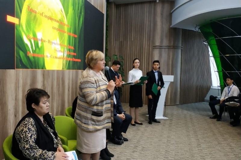 В столице определили финалистов международного конкурса школьных экологических проектов