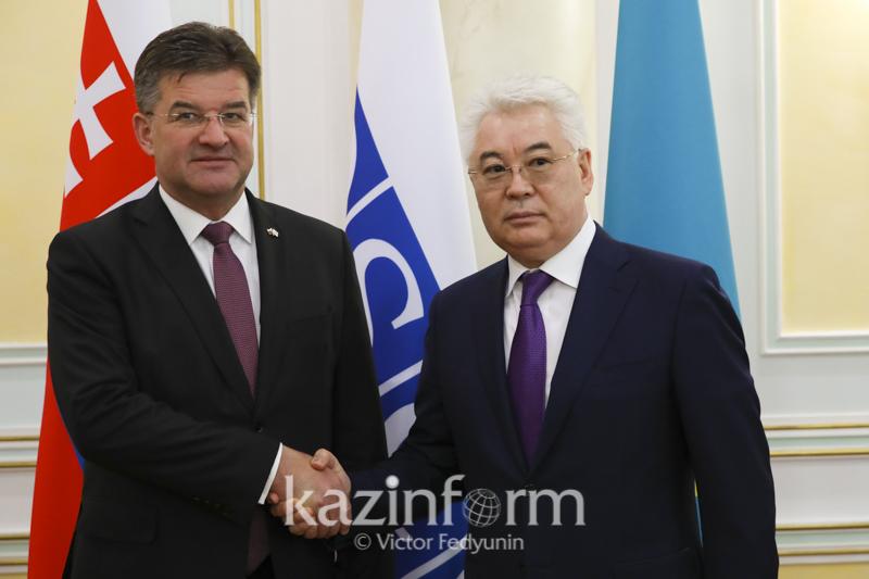 外交部部长阿塔穆库洛夫会见欧安组织主席