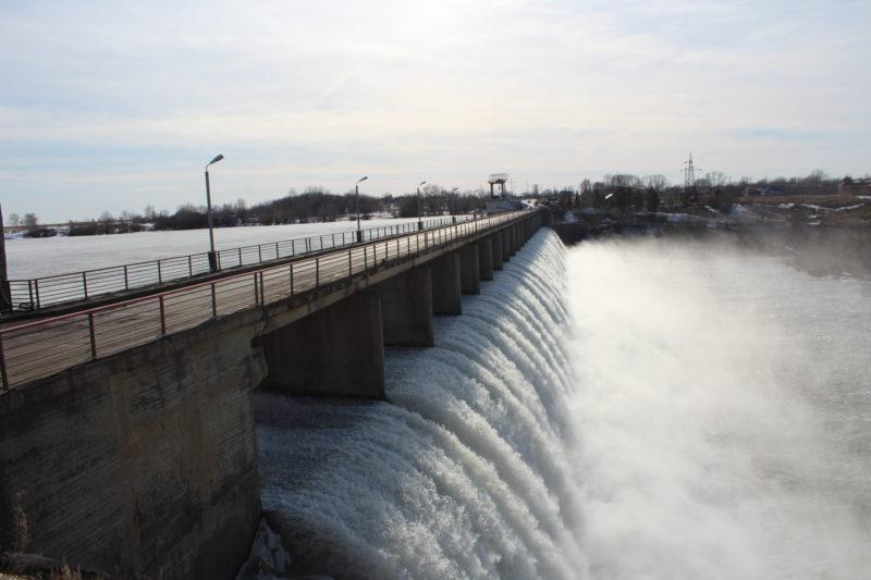 Как изменился за сутки уровень воды в водохранилищах СКО