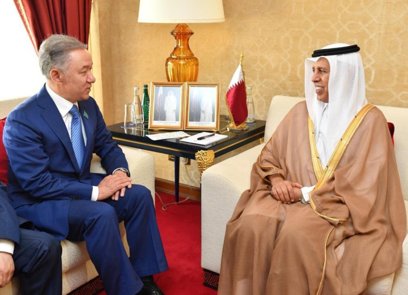 尼格马图林会见卡塔尔协商会议主席马哈茂德