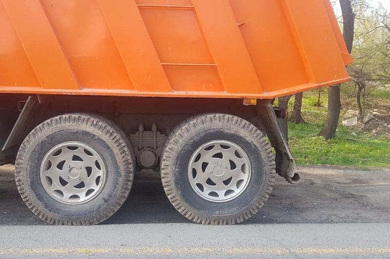 За перегруз штрафуют водителей грузовых машин в Атырау