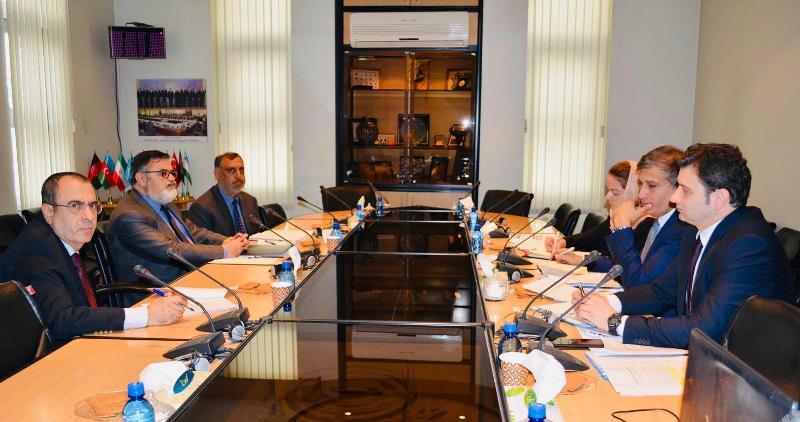 突厥议会秘书长与经合组织秘书长在伊朗会晤