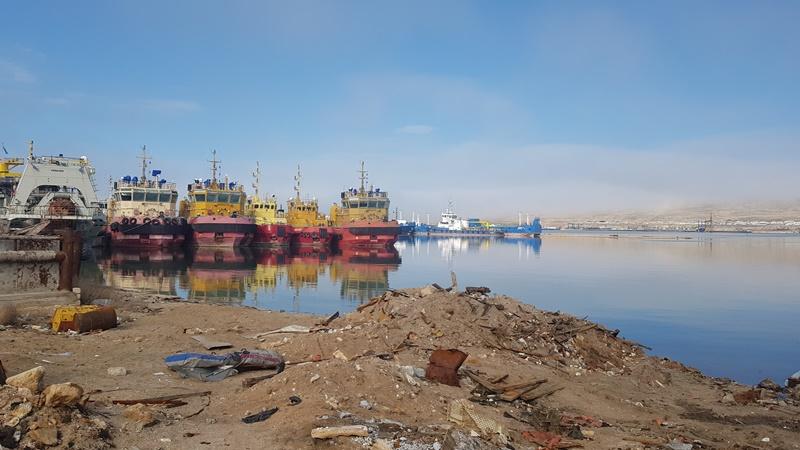 Каспий теңізінің қазақстандық бөлігіне мұнай қалдықтары төгілген