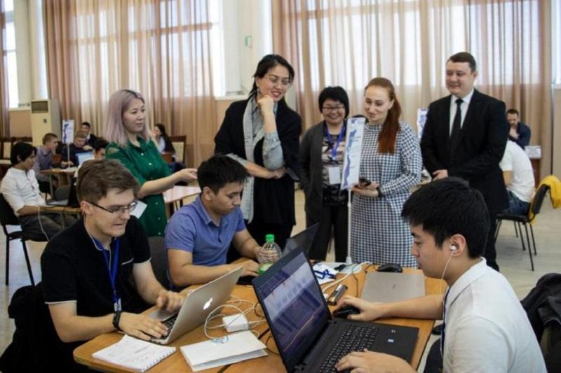 E Kazakhstan hosts regional IT Jastar Time Hackathon