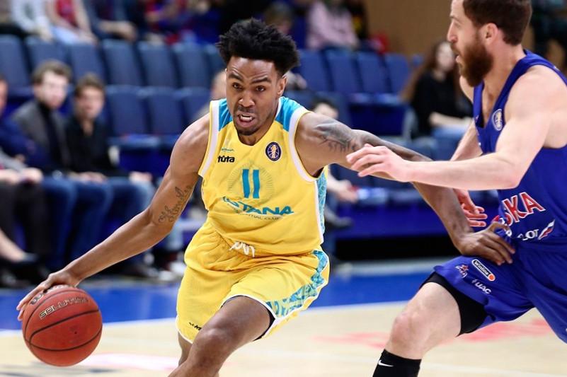 Баскетбольный клуб «Астана» уступил ЦСКА в единой лиге ВТБ