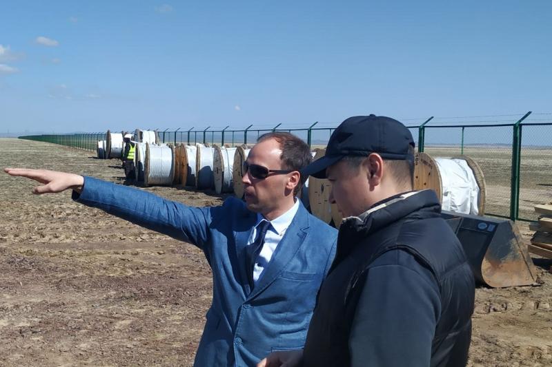 Строительство солнечной электростанции в Карагандинской области завершится в июне