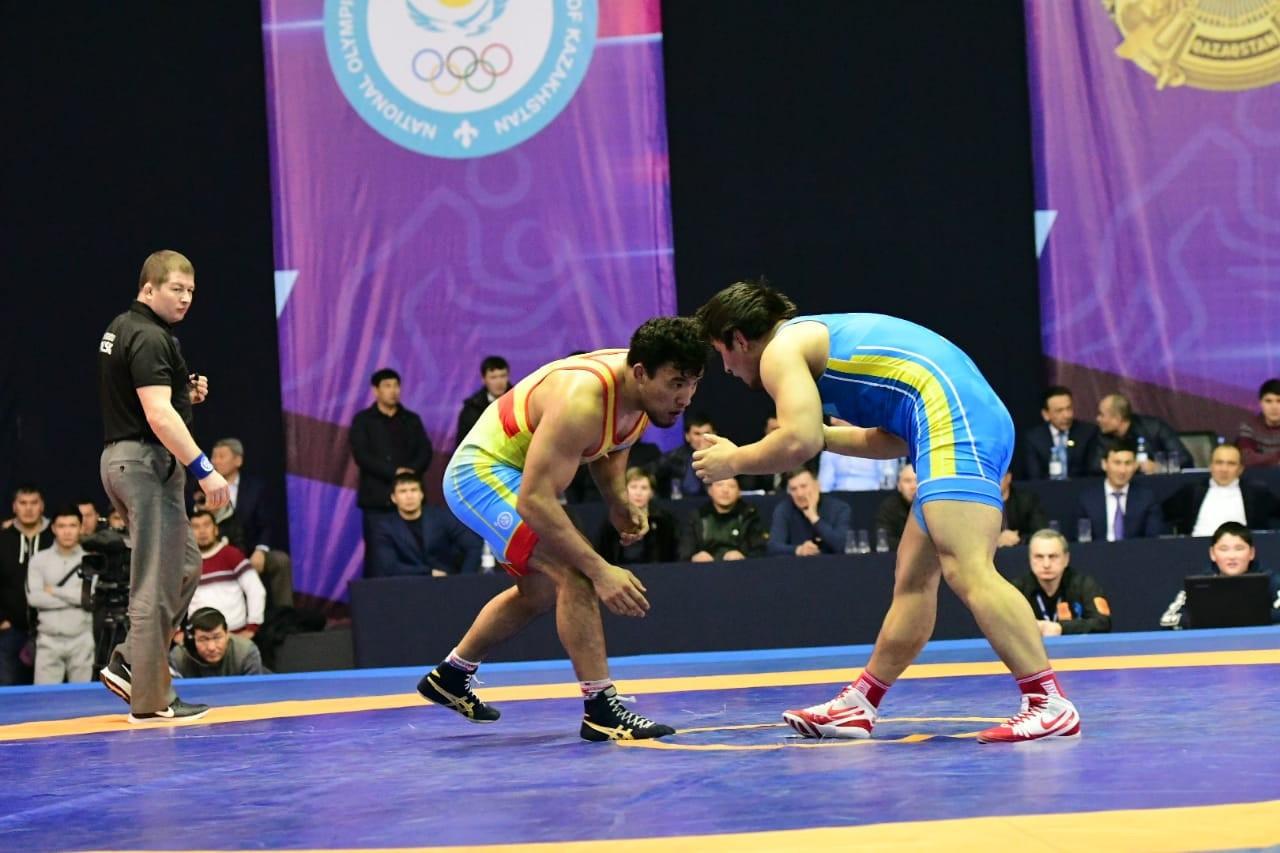 Еркін күрестен Азия чемпионатына қатысатын спортшылар белгілі болды