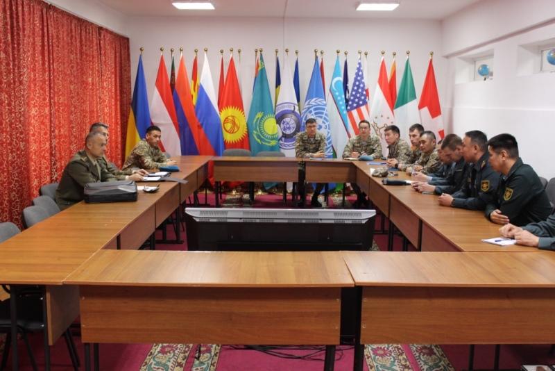 Центр «Партнерство во имя мира» посетила делегация Вооруженных сил Италии