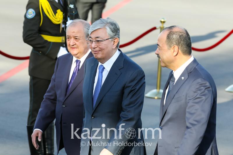 Президент Казахстана прибыл с государственным визитом в Узбекистан