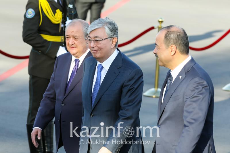 Қазақстан Президенті мемлекеттік сапармен Ташкентке келді