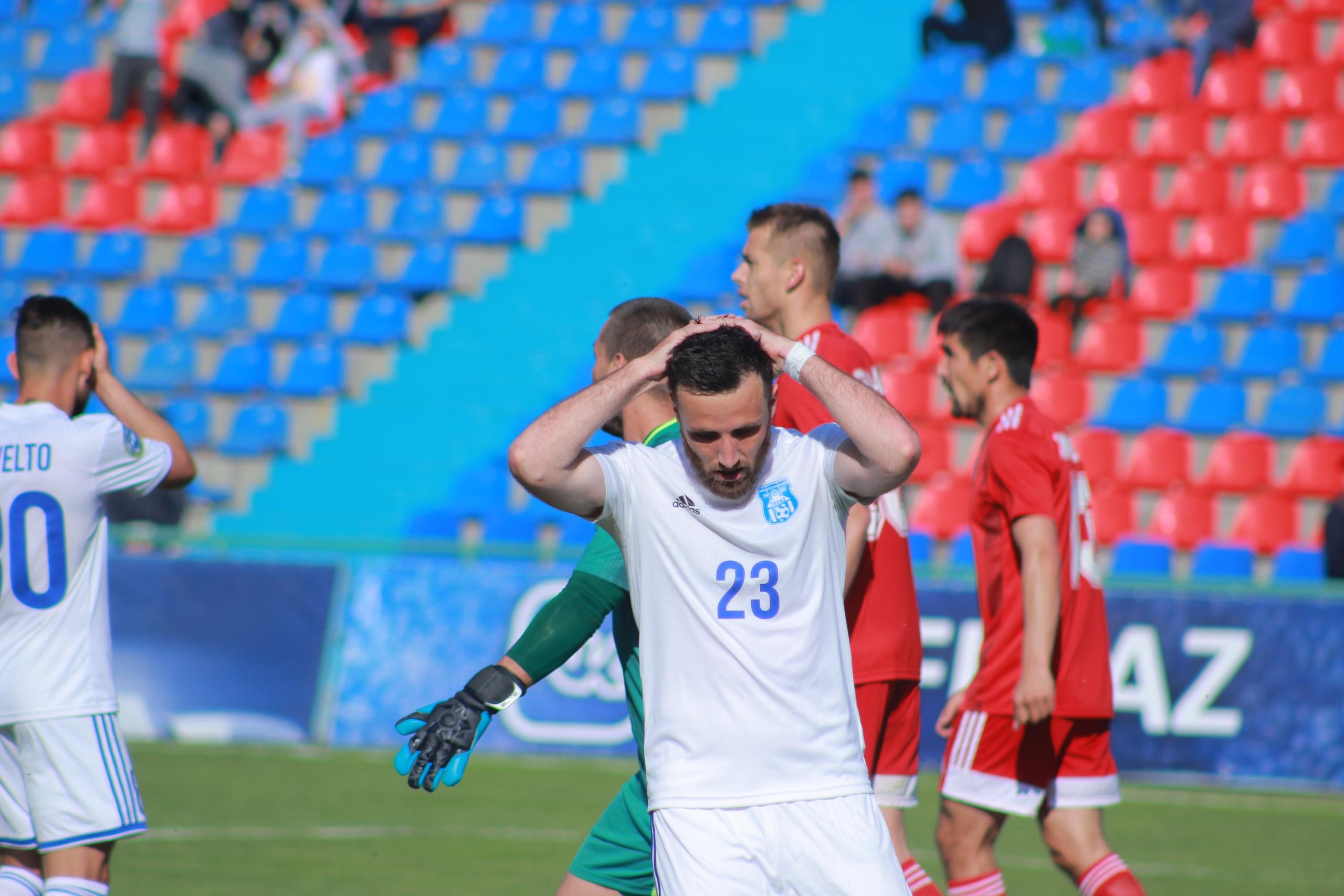 Разочарованием для болельщиков «Тараза» закончился матч против «Кайсара»