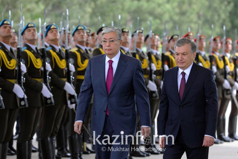 Президенты Казахстана и Узбекистана проводят встречу в Ташкенте
