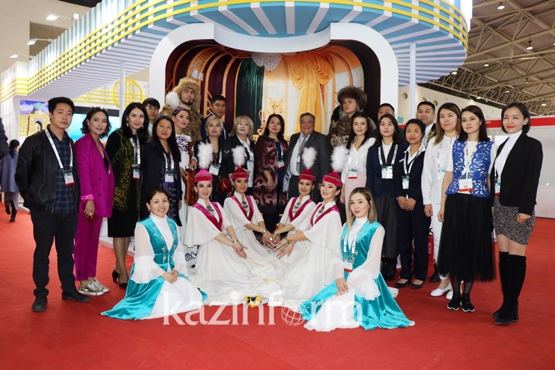 Kazakhstan attends China's Tourism Exhibition