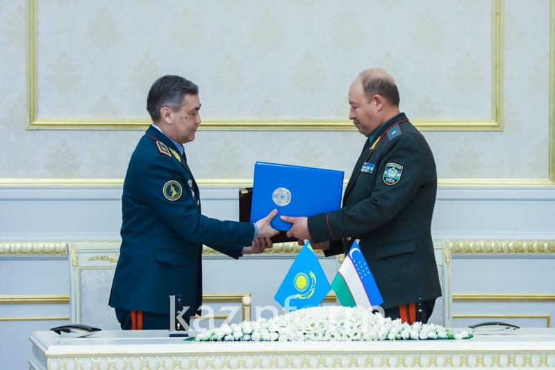 Қазақстан мен Өзбекстан бірқатар екіжақты құжаттарға қол қойды