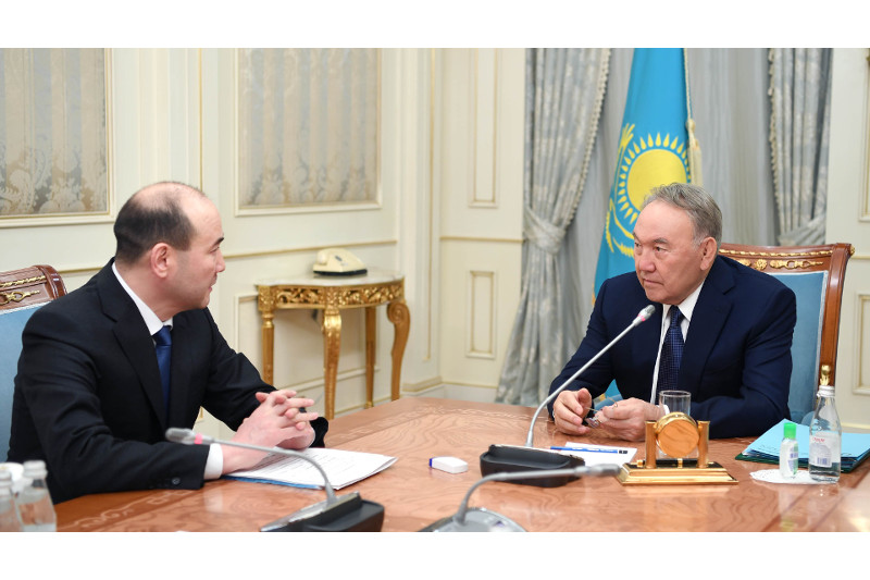 Нурсултан Назарбаев принял Генпрокурора Гизата Нурдаулетова