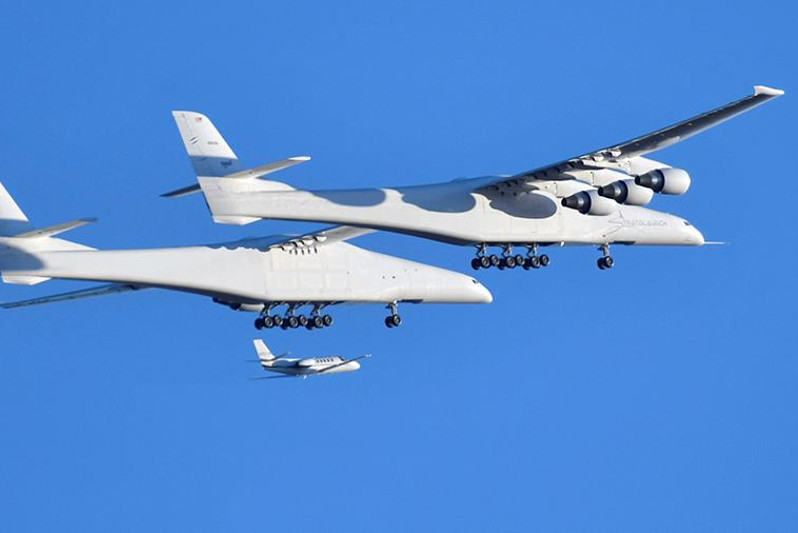 World's largest airplane completes first test flight