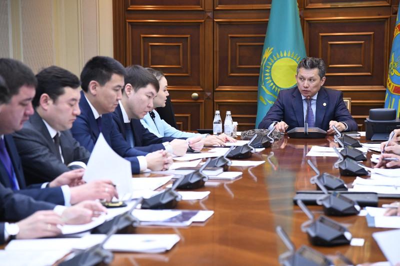 Бахыту Султанову  доложили итоги по формированию социальной карты многодетных