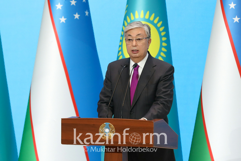 Касым-Жомарт Токаев открыл Год Казахстана в Узбекистане