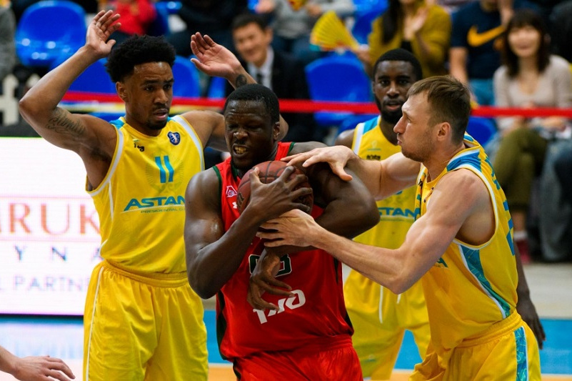 Баскетбольная «Астана» проиграла «Локомотиву-Кубани» в матче ВТБ