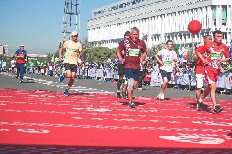 Алматыда марафон кезінде қай көшелер жабылады