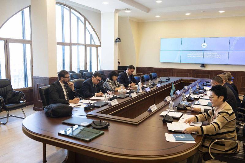 中选委主席会见欧安组织民权办需求评估团