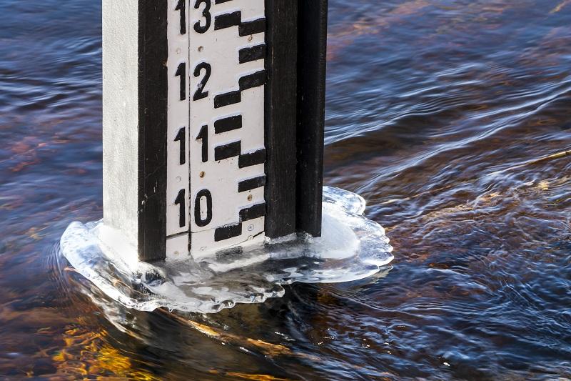 Об уровне воды в реке Есиль в Северном Казахстане рассказали синоптики