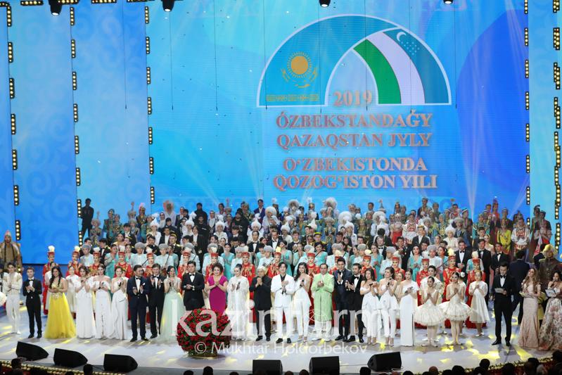 «Qazaqstan» телеарнасында Өзбекстандағы Қазақстан жылының ашылу салтанаты көрсетіледі
