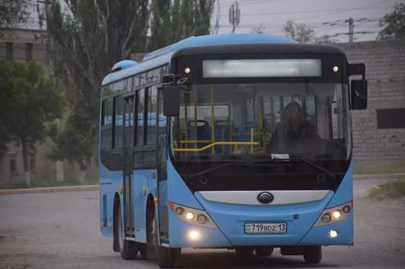 В Туркестане обновляют общественный транспорт