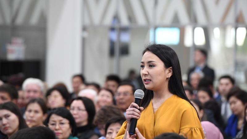 Гульшара Абдыкаликова провела встречу с населением Алматинской области