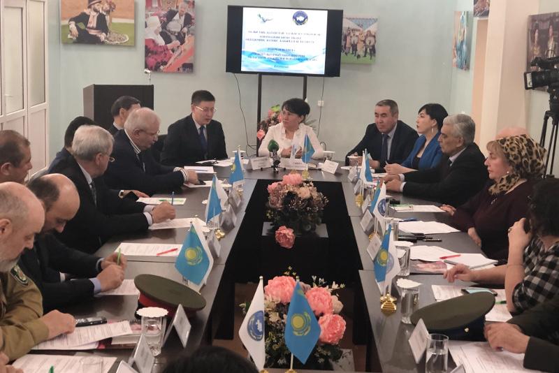 Выборы Президента РК поддерживают этнокультурные объединения Костанайской области