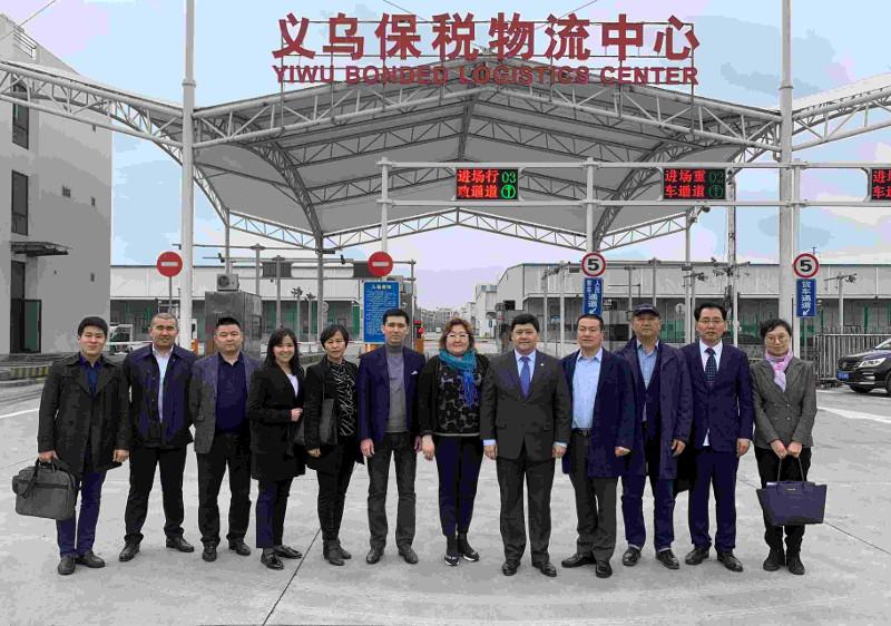 哈萨克斯坦代表团前往中国进行市场研究
