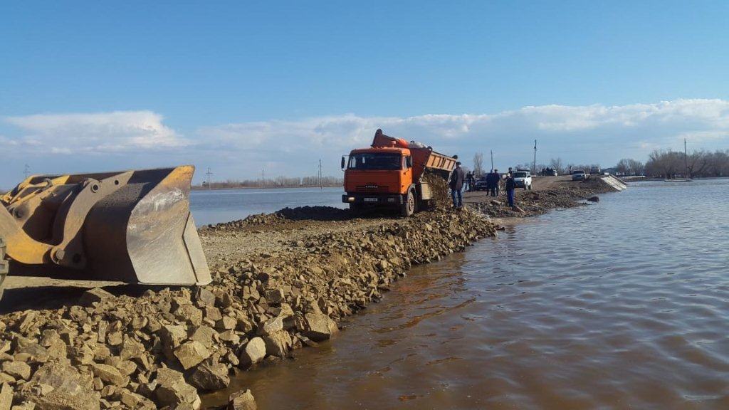 В Акмолинской области возобновлено автомобильное сообщение на Старый Колутон