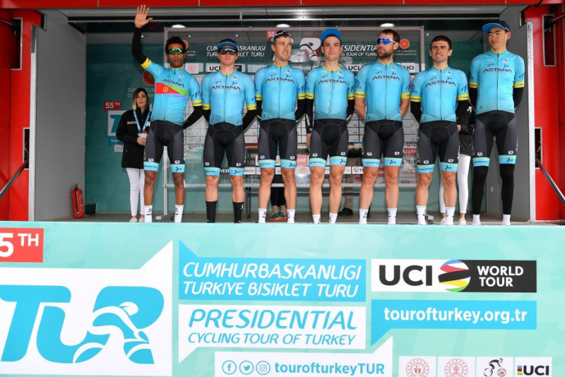 Astana in massive sprint of Tour of Turkey Stage 1