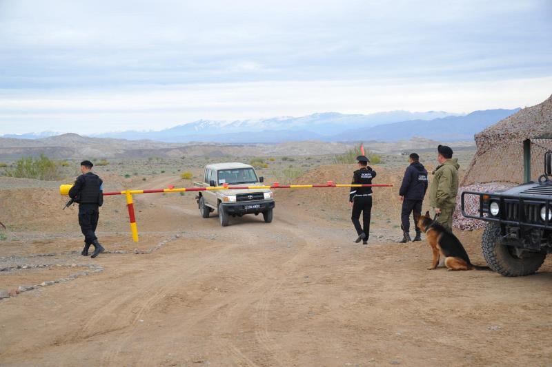 Военнослужащие Вооруженных Сил Казахстана подняты по тревоге