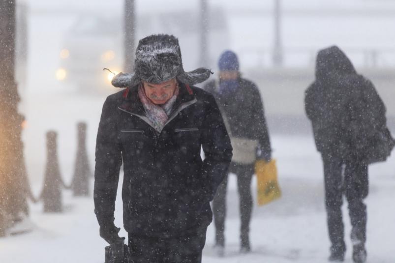 未来三天北部地区将有降雪和降温天气