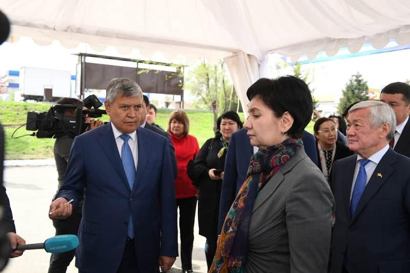 Governmental group tours Almaty region