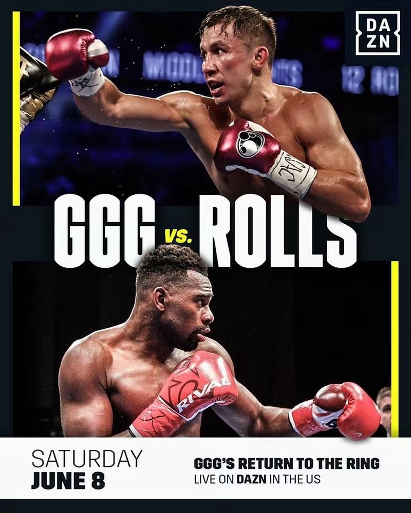 职业拳击:戈洛夫金复出战对手正式确定
