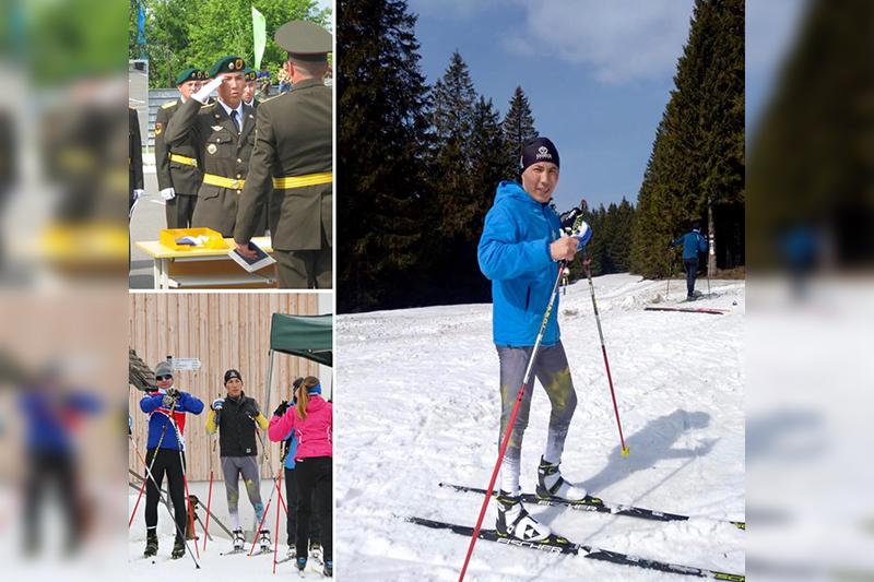 Армейский паралимпиец осваивает новый вид спорта