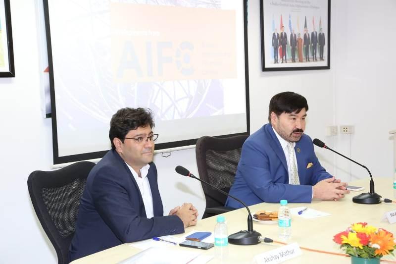 阿斯塔纳国际金融中心推介会在印度孟买市举行