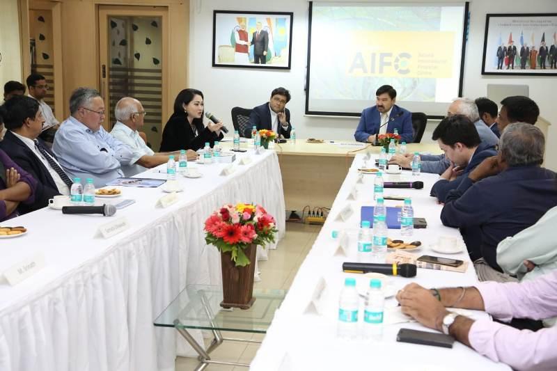 МФЦА презентовали в крупнейшем экономическом центре Индии