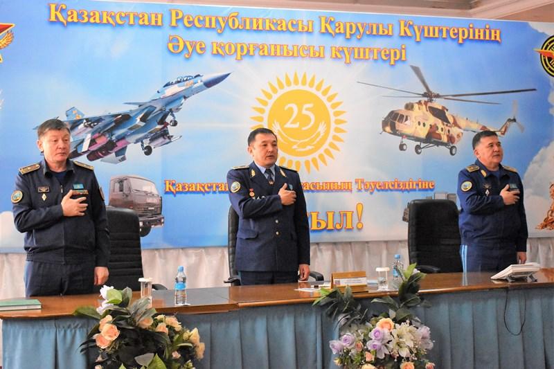 Летчик-космонавт Айдын Аимбетов встретился с представителями молодёжи