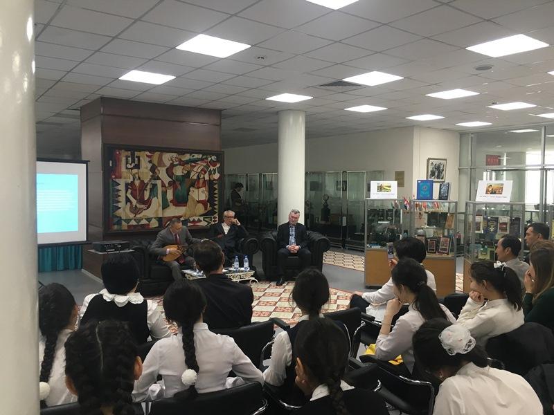 Литературный вечер «Қазақ жыраулары» прошел в Алматы