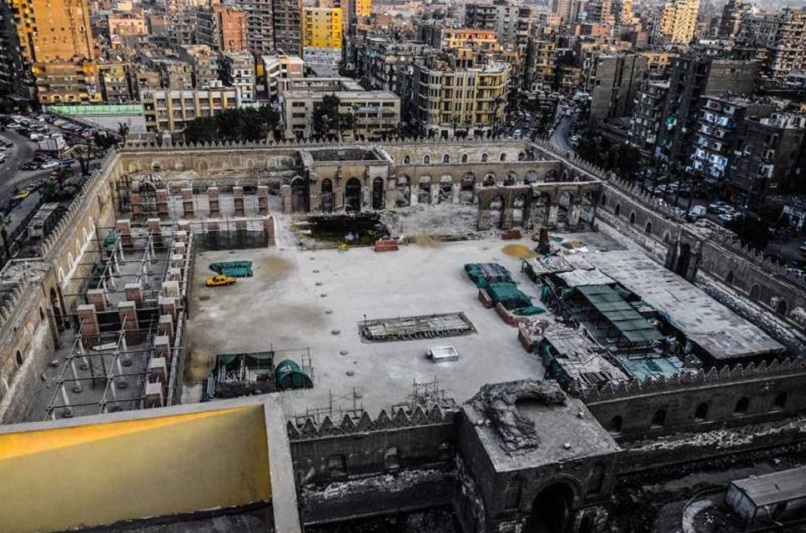 Egypt's government to spend EGP181mn on restoration of Sultan al-Zahir Baybars Mosque