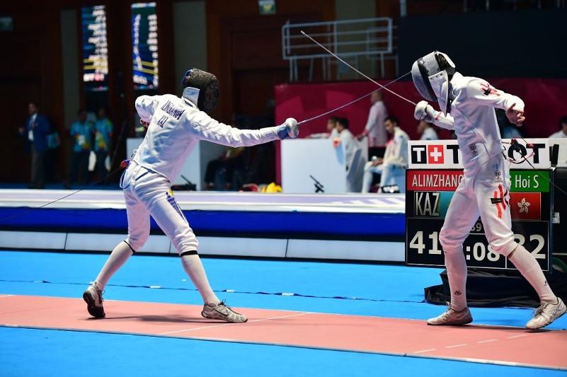 Определился победитель спартакиады Казахстана по фехтованию на шпаге