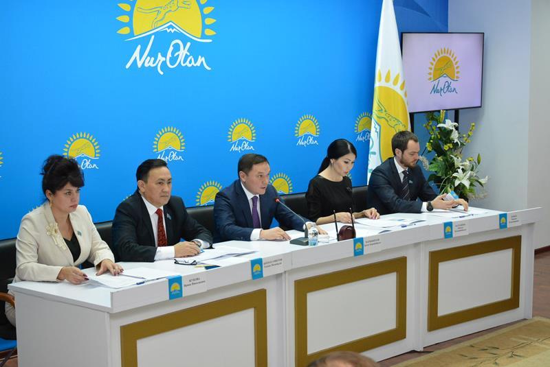 Делегатов на съезд  Nur Otan выбрали филиалы Акмолинской и Северо-Казахстанской областей